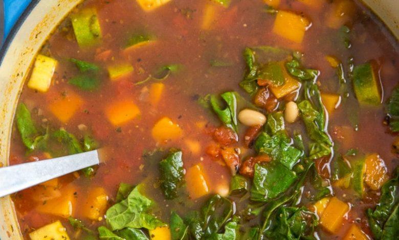 3 أنواع من الحساء الإيطالي الشهي