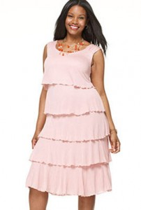 فستان متعدد الكرانيش