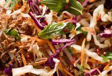4 أطباق شهية للسلطة الآسيوية