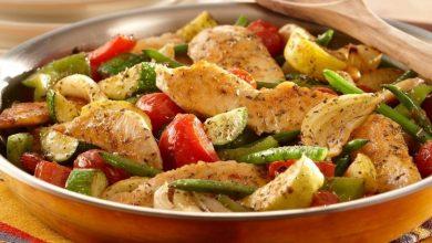 4 وصفات لإعداد وجبات مختلفة للخضار الدايت