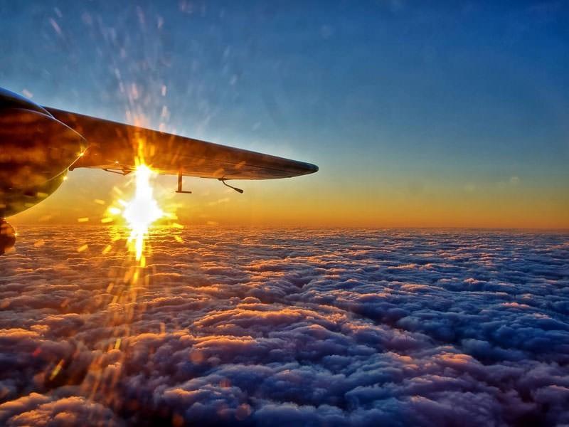 حلق مع شركة طيران ذات الميزانية المحدودة