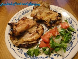 BBQ Yogurt Marinated Chicken (Yogurt Marineli Barbeku Tavuk)