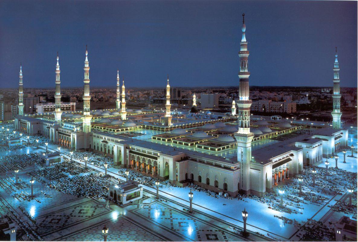 المسجد النبوي في المملكة العربية السعودية
