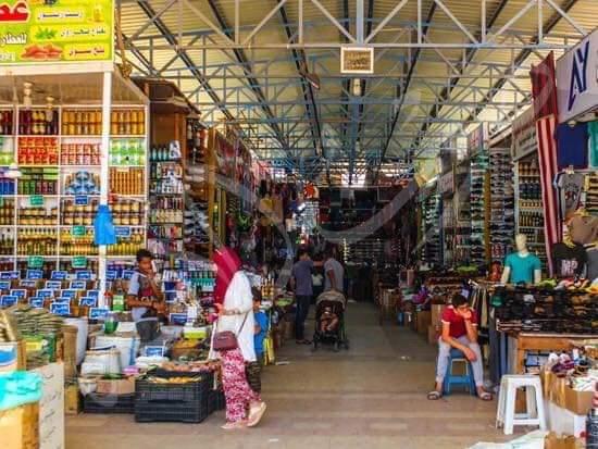 أماكن التسوق في مرسى مطروح