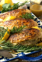 دجاج بالروزماري