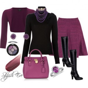 Purple-Winter-2013-Outfits-for-Women-by-Stylish-Eve_06