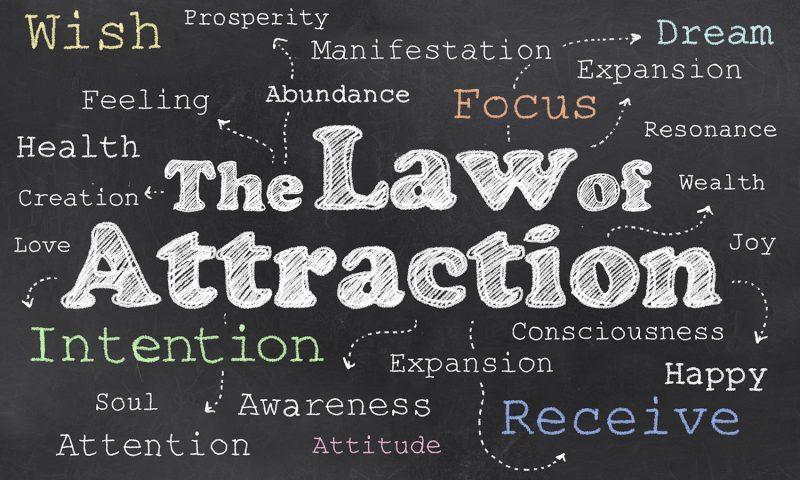 قانون الجذب هو مفتاح السعادة