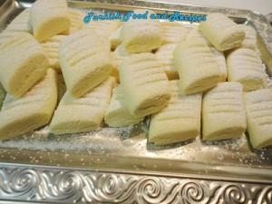 Turkishh Shortbread (un kurabiyesi)