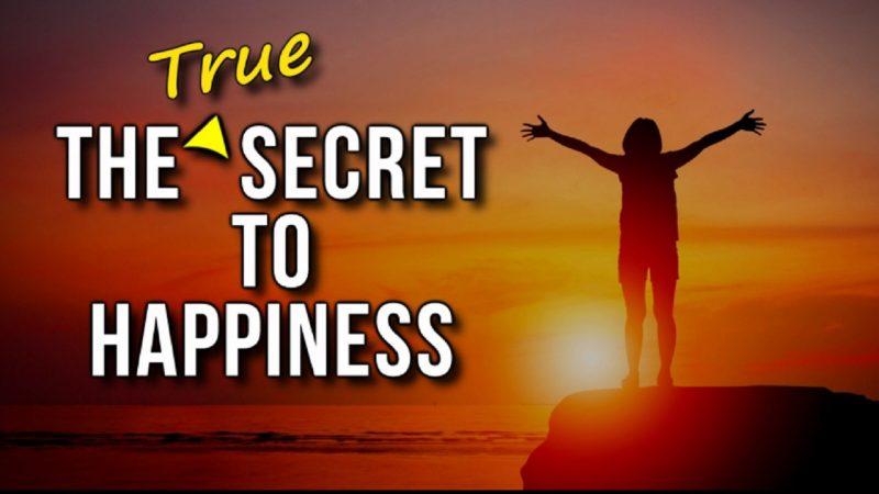 مفتاح السعادة الحقيقي
