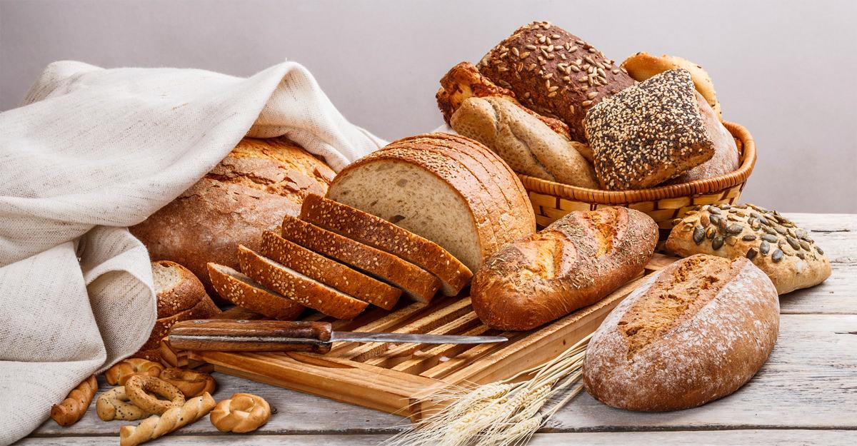 اختر الخبز الكامل، الحبوب، الارزّ، والمعكرونة أثناء حمية الكيتو
