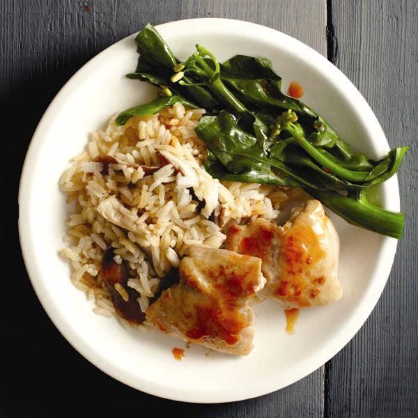 طريقه عمل طبق من الأرز الآسيوي