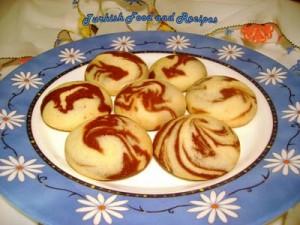 double colored cookies (iki renkli kurabiye)