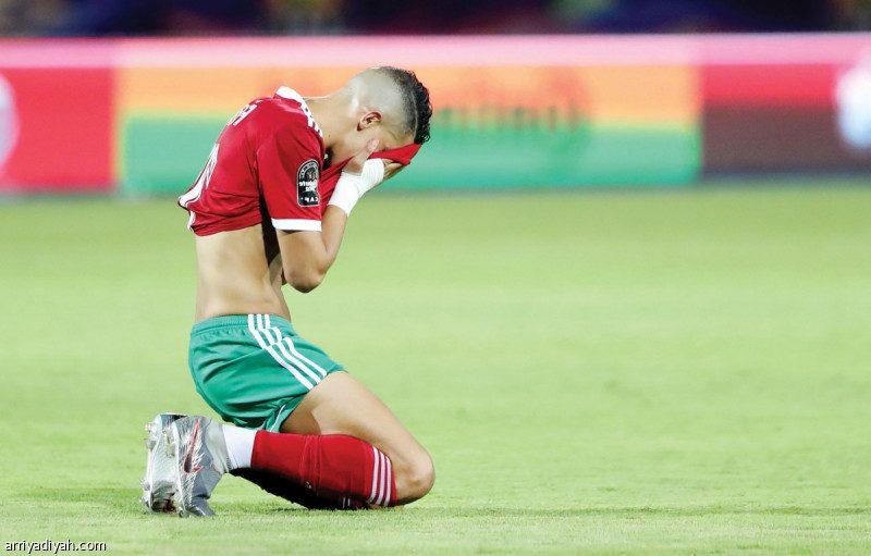 خروج المغرب من كأس افريقيا