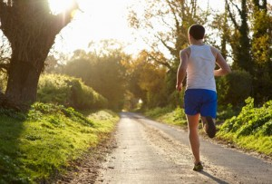 getty_rf_photo_of_man_jogging_in_woods