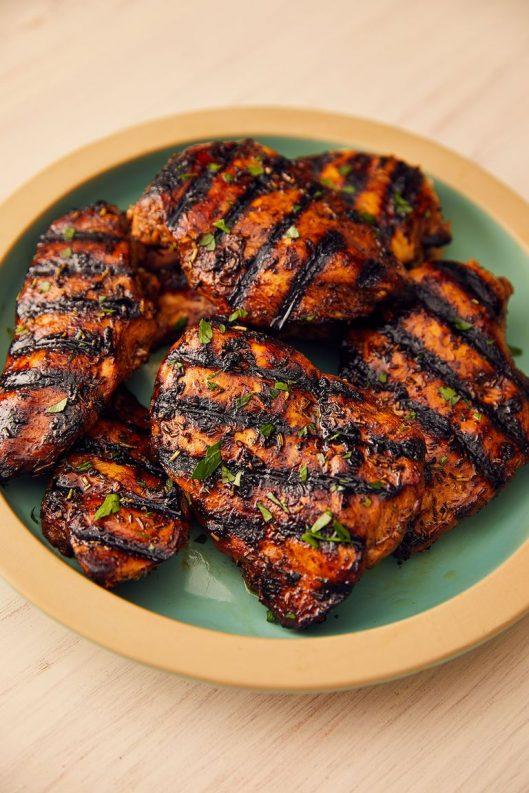 وجبة الدجاج المشوي