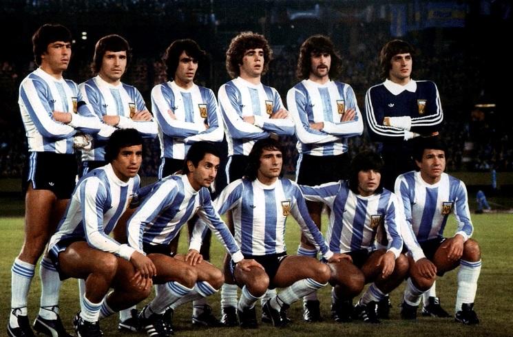 منتخب الأرجنتين قديماً