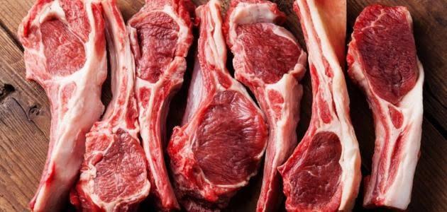 لحم الخروف