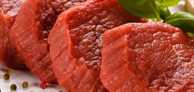 لحم البقر يحتوي علي الزنك