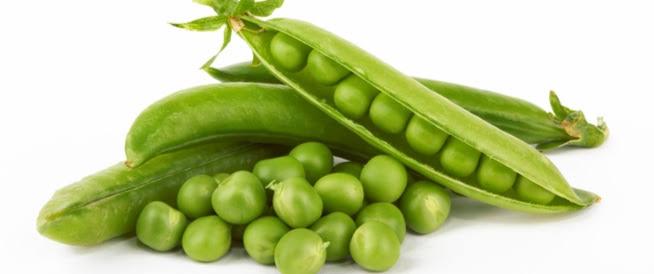 البازلاء الخضراء تحتوي علي فيتامين B3