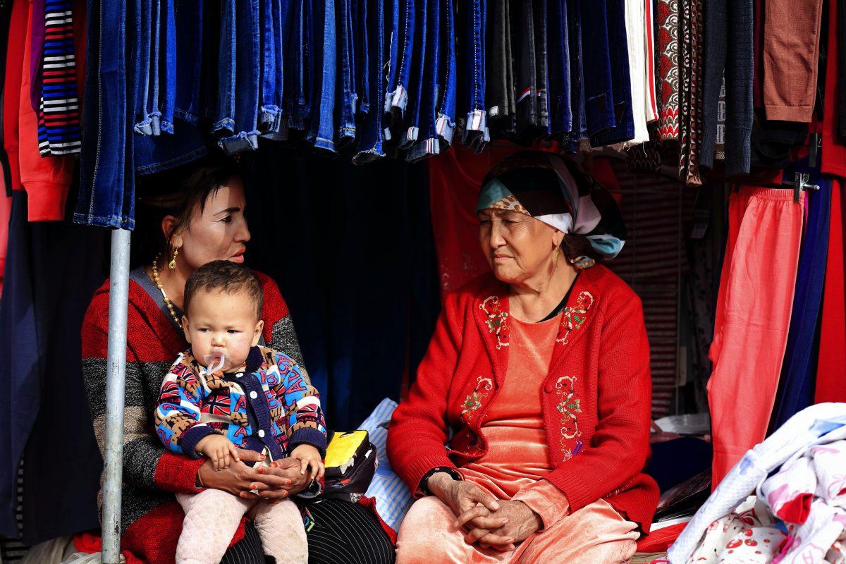 أطفال الأويغور