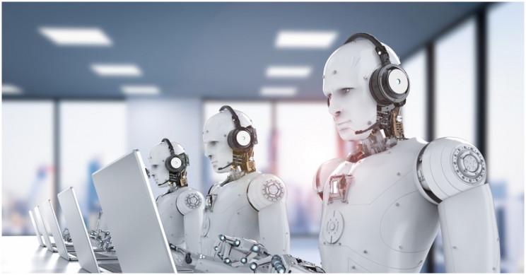 الروبوت يعمل جنباً إلي جنب