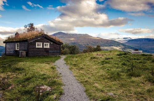 حلم البيوت الخشبية