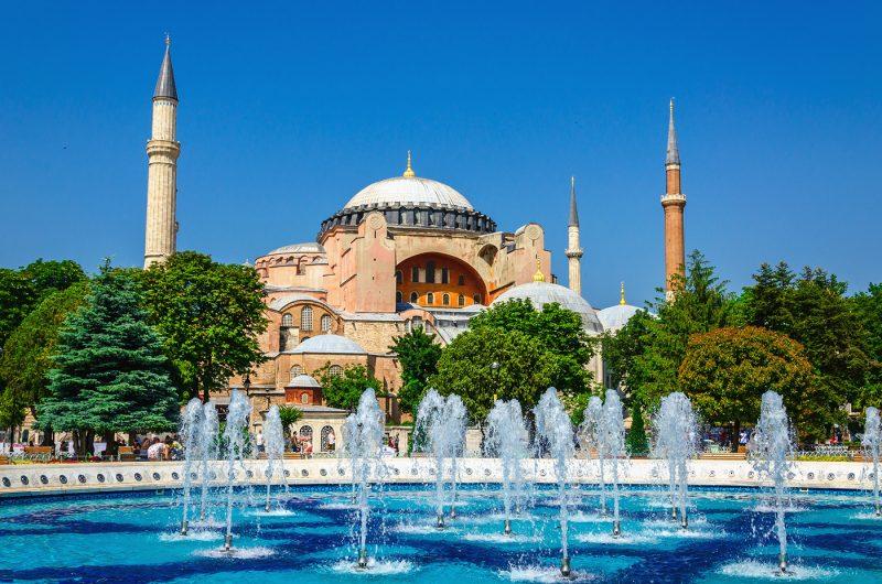متحف آيا صوفيا من أحسن معالم السياحة في اسطنبول