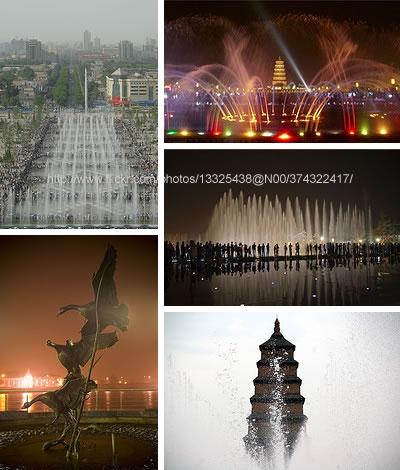 أكبر نافورة موسيقية في آسيا
